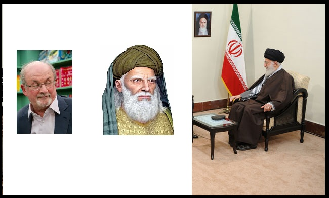 khamenei, rushdie, salman farsi