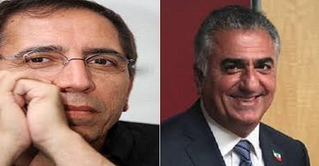 رضا پهلوی و محسن مخملباف