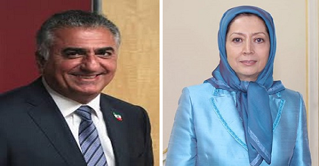 reza pahlavi and maryam rajavi