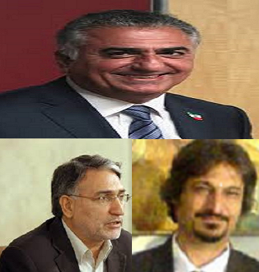 رضا پهلوی، محمد نوری زاد، حشمت طبرزدی