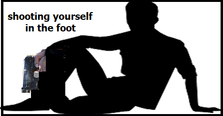 shooting-yourself-in-the-foot